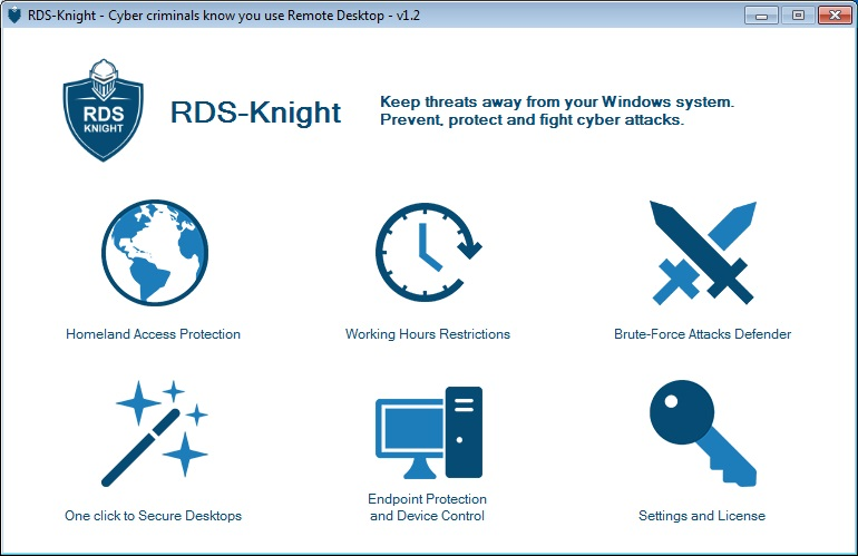 RDS-Knight is the silver bullet against cyber-criminal threats.