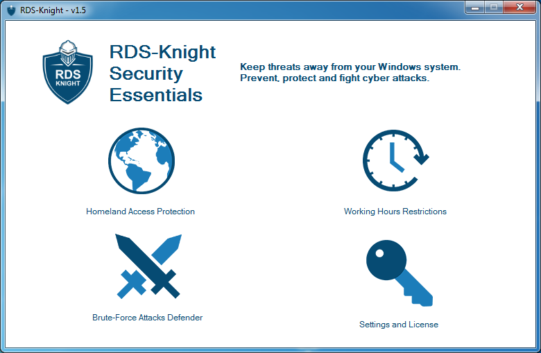 RDS Knight Security Essentials 1.7 Screen shot
